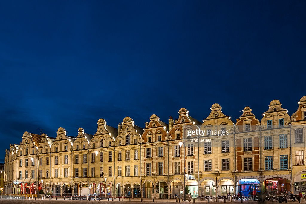CONTENT] The centre of the town of Arras is marked by two large squares the Grande Place and the Place des Héros also called the Petite Place These...