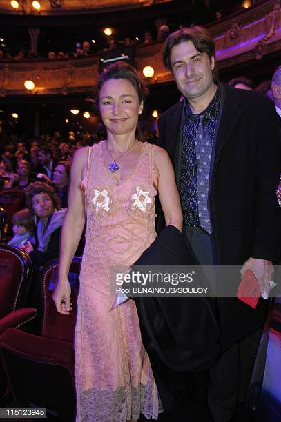 The Cesar Film Awards held at the Chatelet Theater in Paris France on February 27 2009 Catherine Frot