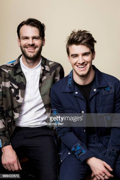The Chainsmokers are photographed for VSCO on May 21 2017 in Las Vegas Nevada