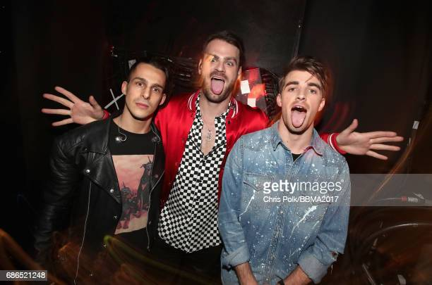 The Chainsmokers attend the 2017 Billboard Music Awards at TMobile Arena on May 21 2017 in Las Vegas Nevada