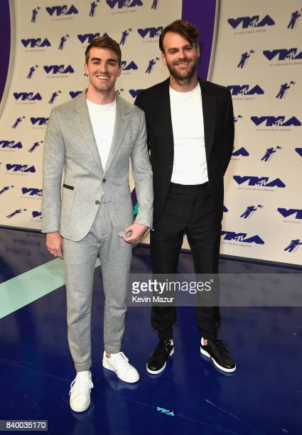The Chainsmokers attend the 2017 MTV Video Music Awards at The Forum on August 27 2017 in Inglewood California