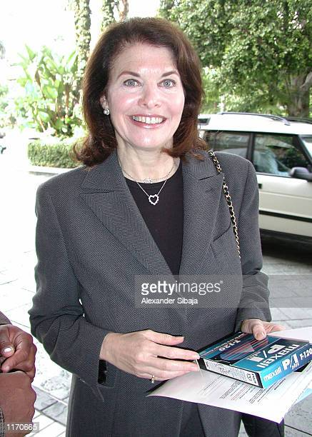The Chairman of Paramount Motion Pictures Group Sherry Lansing attends Paramount's Power Breakfast put on by Women in Film October 19 2001 at Four...