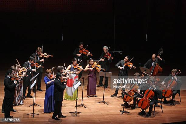 The Chamber Music Society performing the music of Mendelssohn Tchaikovsky and Bartok at Alice Tully Hall on Thursday night October 17 2013