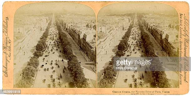 The Champs Elysees Paris France 1894