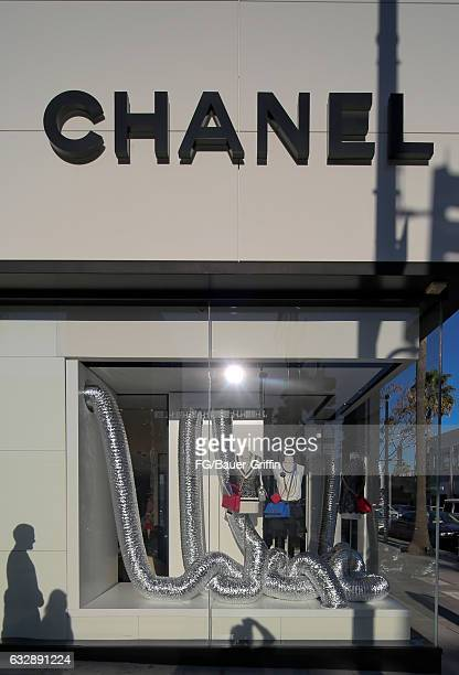 chanel storefront. the chanel store on january 28 2017 in beverly hills california storefront