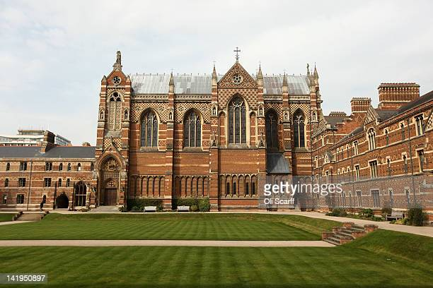 The chapel in Liddon Quad of Keble College on March 22 2012 in Oxford England