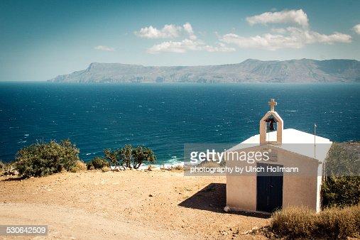 The chapel of Agia Irini, Gramvousa peninsula, Cre