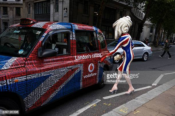The character known as Pandemonia is partparody a living sculpture and fine artist who is leaving a London Fashion show at Somerset House during...