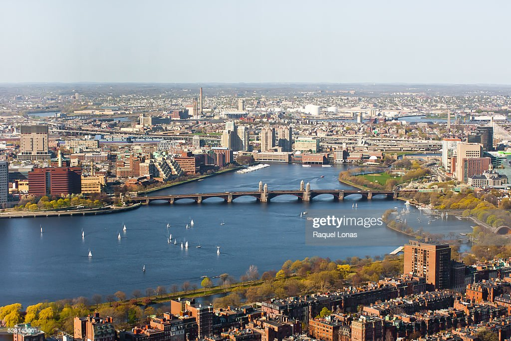 the Charles River between Boston and Cambridge