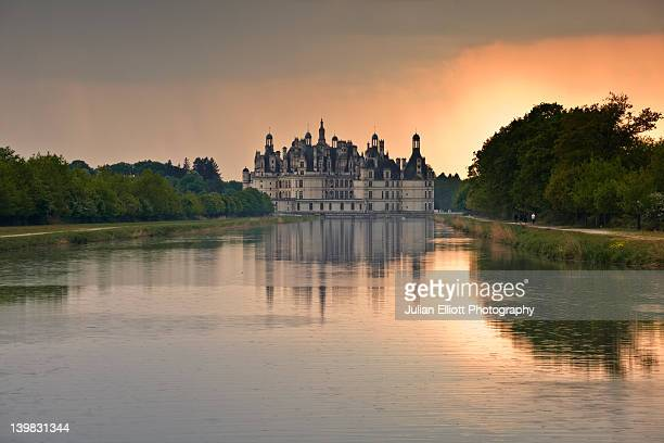 The chateau at Chambord in France. The castle is in the Loire Valley which has been protected by UNESCO.