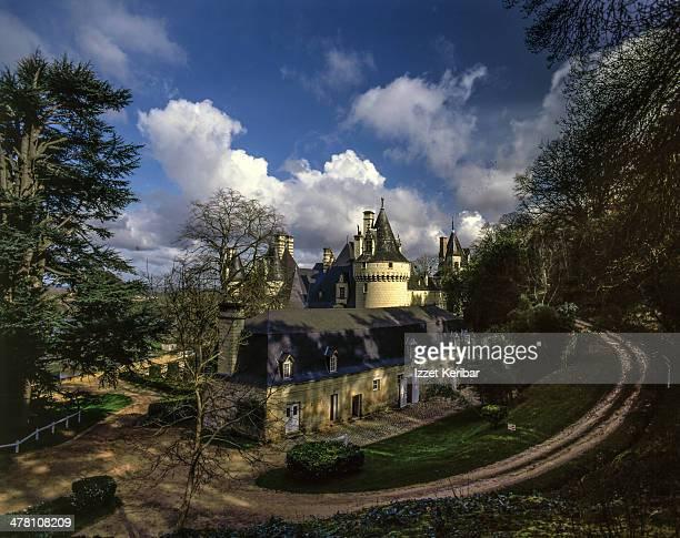 The Chateau de Villandry on Loire Valley