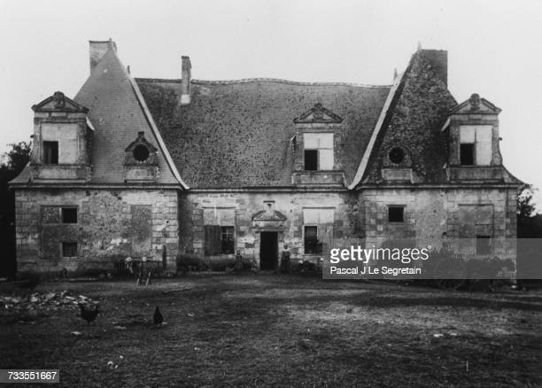 The Chateau of Vonnes where Balzac's characters the Mortsaufs lived in 'Lily of the Valley'