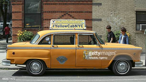 Checker Cab Stock Photos And Pictures Getty Images