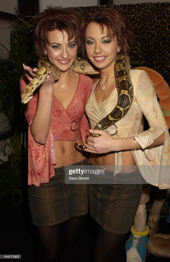 The Cheeky Girls, The Wild Thornberrys Movie Premiere (in Aid Of The World Wildlife Fund.), At Warner West End In Leicester Square, London