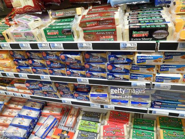 The cheese department of a grocery in New York on Friday January 1 2016