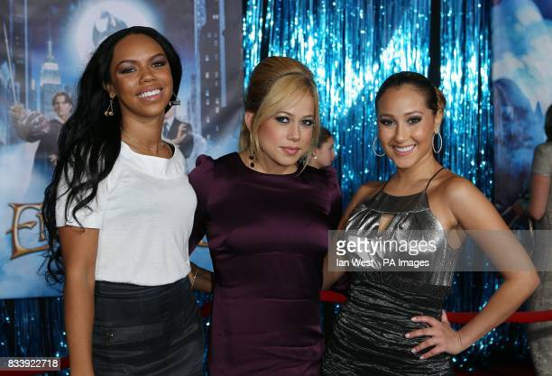 The Cheetah Girls arrive at the premiere of Enchanted at the El Capitan Theatre in Los Angeles