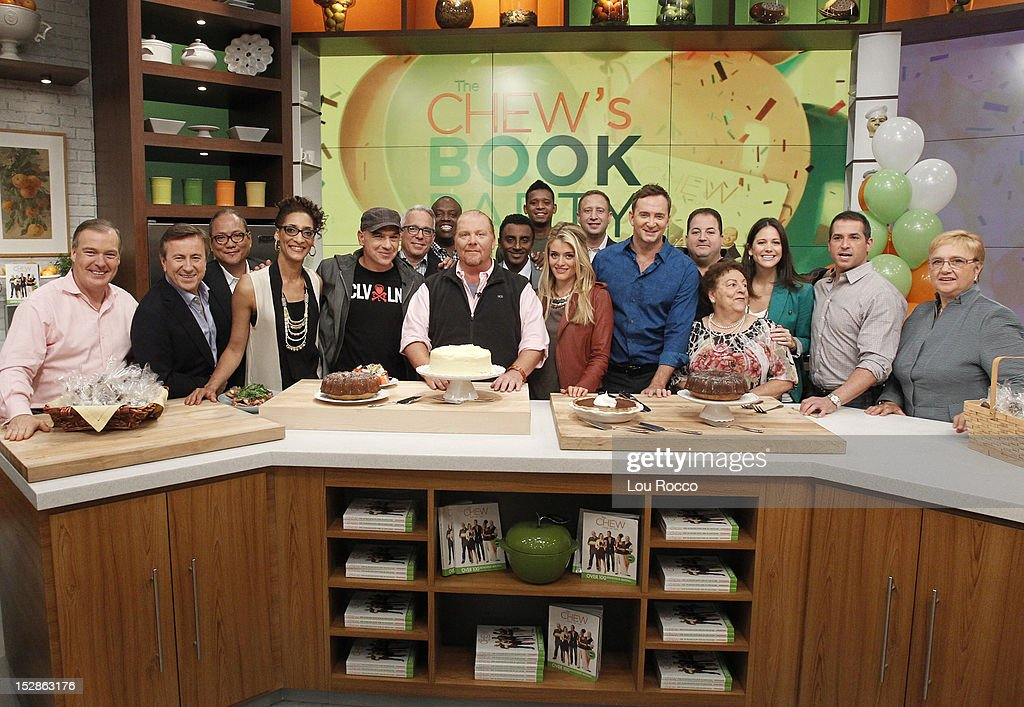 THE CHEW - 'The Chew' celebrates the release of its first book BASTIANICH