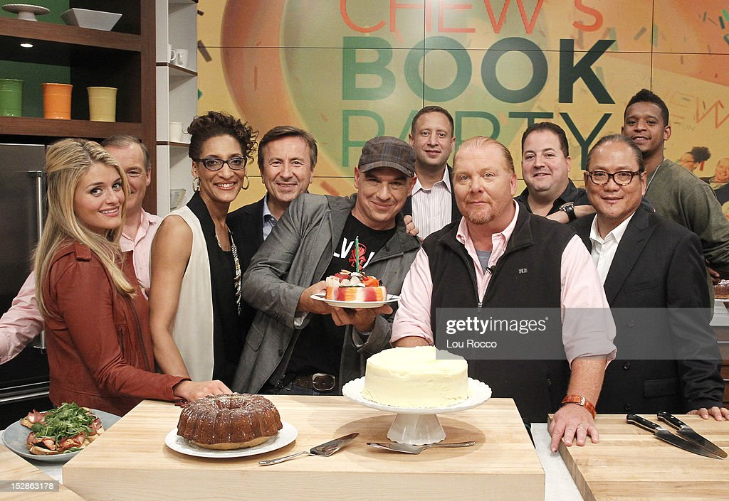 THE CHEW - 'The Chew' celebrates the release of its first book ALI