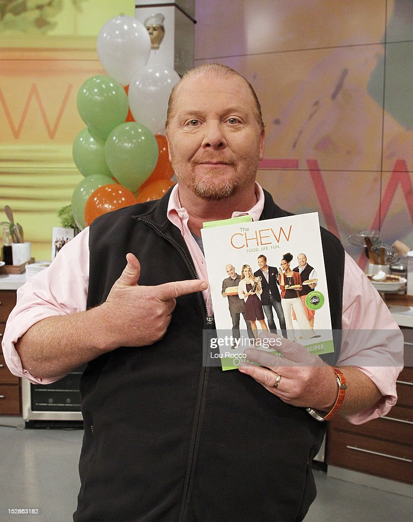 THE CHEW - 'The Chew' celebrates the release of its first book BATALI