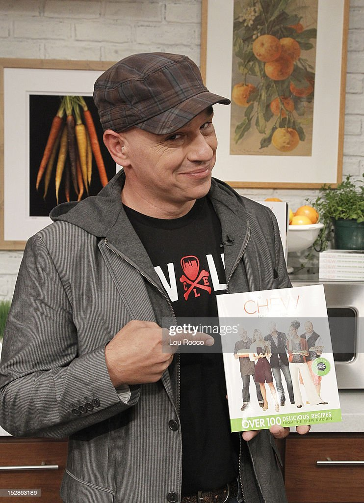 THE CHEW - 'The Chew' celebrates the release of its first book SYMON