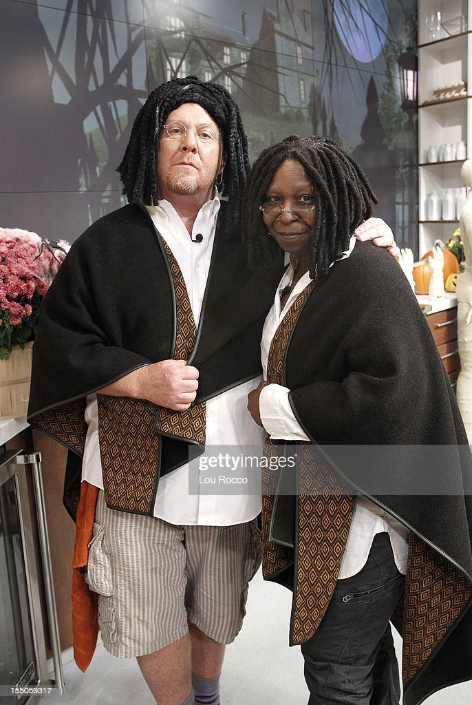 THE CHEW - 'The Chew' co-hosts dress as 'The View' co-hosts on 'The Chew's' Halloween show airing Wednesday, October 31, 2012. 'The Chew' airs MONDAY - FRIDAY (1-2pm, ET) on the ABC Television Network. GOLDBERG