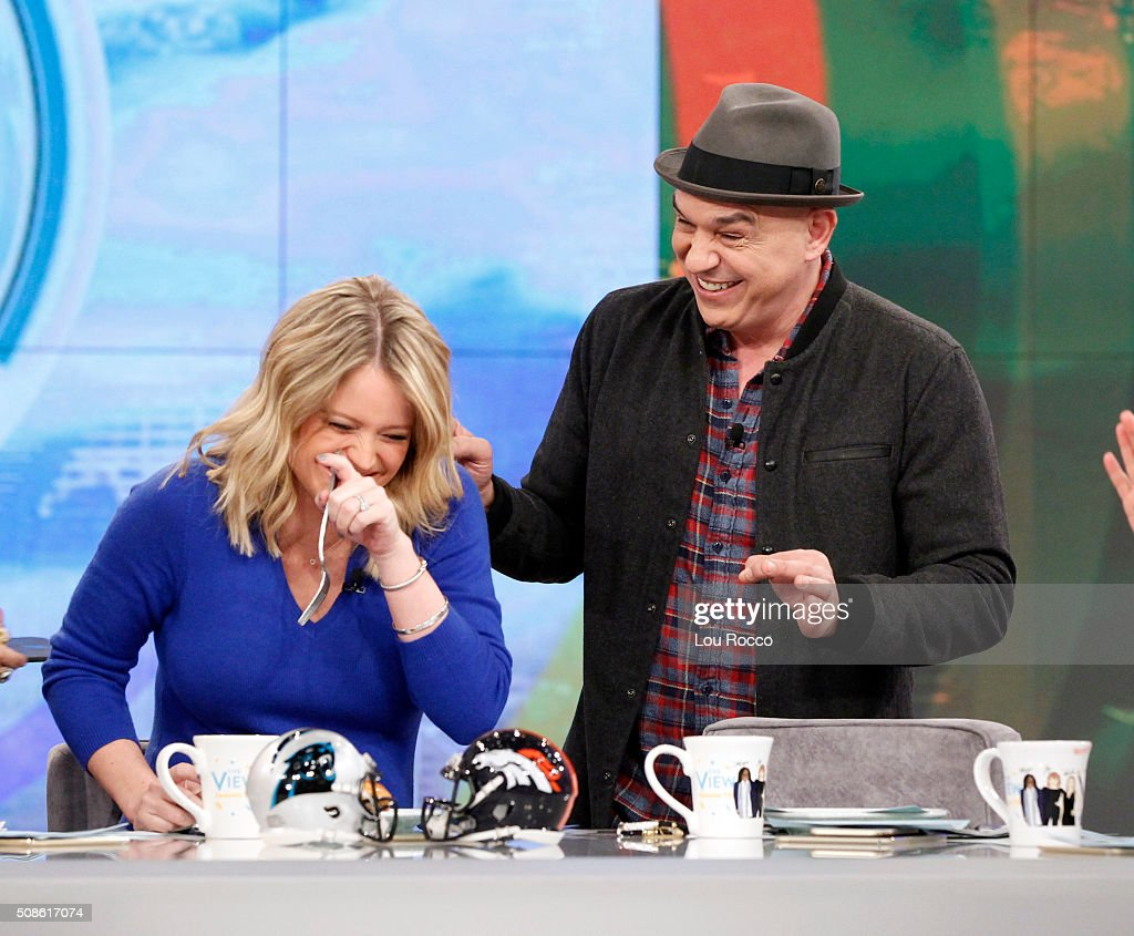 THE VIEW - 'The Chew's' <a gi-track='captionPersonalityLinkClicked' href=/galleries/search?phrase=Michael+Symon&family=editorial&specificpeople=4756075 ng-click='$event.stopPropagation()'>Michael Symon</a> visits 'THE VIEW,' 2/5/16 (11:00 a.m. - 12:00 noon, ET) airing on the ABC Television Network. SYMON