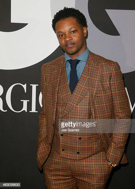 The Chicago Kid attends GQ and Giorgio Armani Grammys After Party at Hollywood Athletic Club on February 8 2015 in Hollywood California