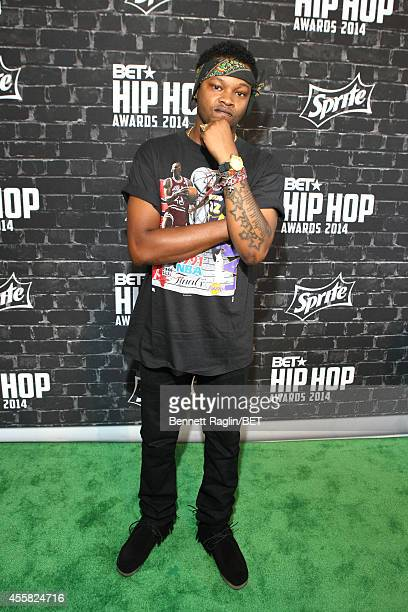 The Chicago Kid attends the BET Hip Hop Awards 2014 presented by Sprite at Boisfeuillet Jones Atlanta Civic Center on September 20 2014 in Atlanta...