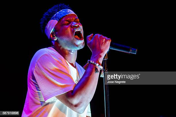 BJ the Chicago Kid performs at The Roxy Theatre on August 9 2016 in West Hollywood California