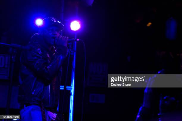 BJ the Chicago Kid performs at The Troubadour on February 10 2017 in Los Angeles California