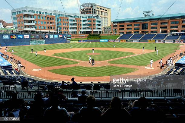 The Chicago White Sox play the Most Valuable Prospects during the championship game of the 2011 Breakthrough Series at the Durham Bulls Athletic Park...