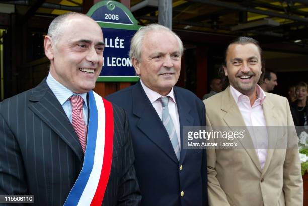 The Chief of Village Christian Bimes and Henri Leconte