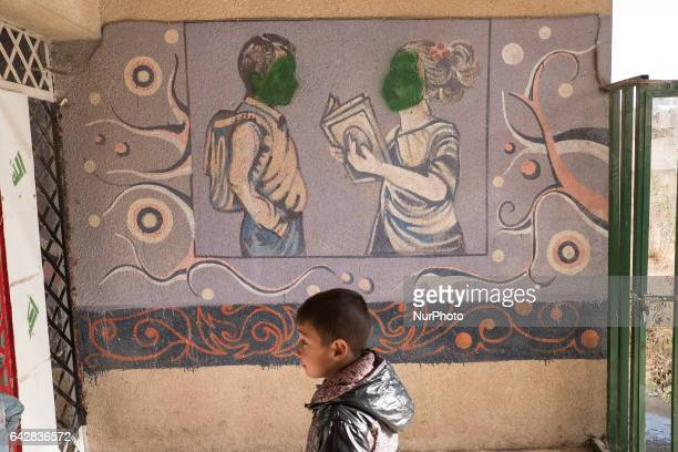 The children of Mosul go back to school as Isil is pushed out of Iraq's second city Thirty schools have reopened in Mosul so far welcoming back 16000...
