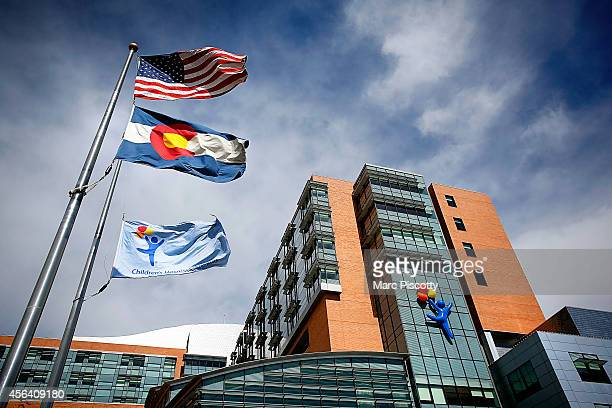 The Children's Hospital Colorado which has seen 10 patients with respiratory enterovirus EVD68 after an outbreak in the state is seen on September 30...