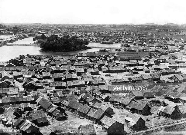 The Chinese city of Hankow from the water tower