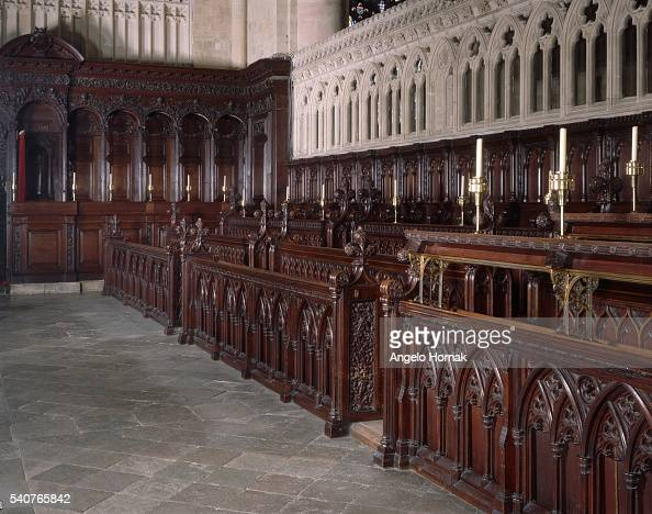 canterbury cathedral choir stalls pictures