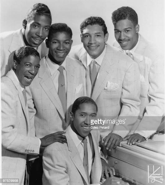 The Chords pose for a studio group portrait in 1954 in the United States