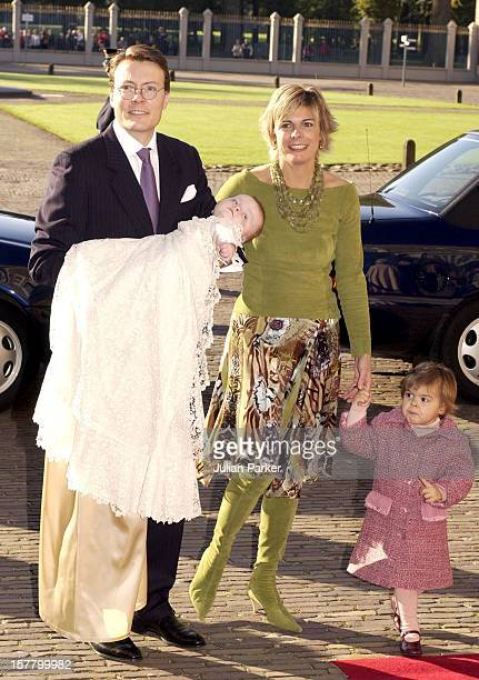 The Christening Of Prince Constantijn Princess Laurentien Of Holland'S Son ClausCasimir At The Palais Het Loo In Apeldorn