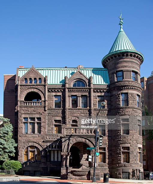 The Christian Heurich House Museum also known as The Brewmaster Castle located in NW Washington DC