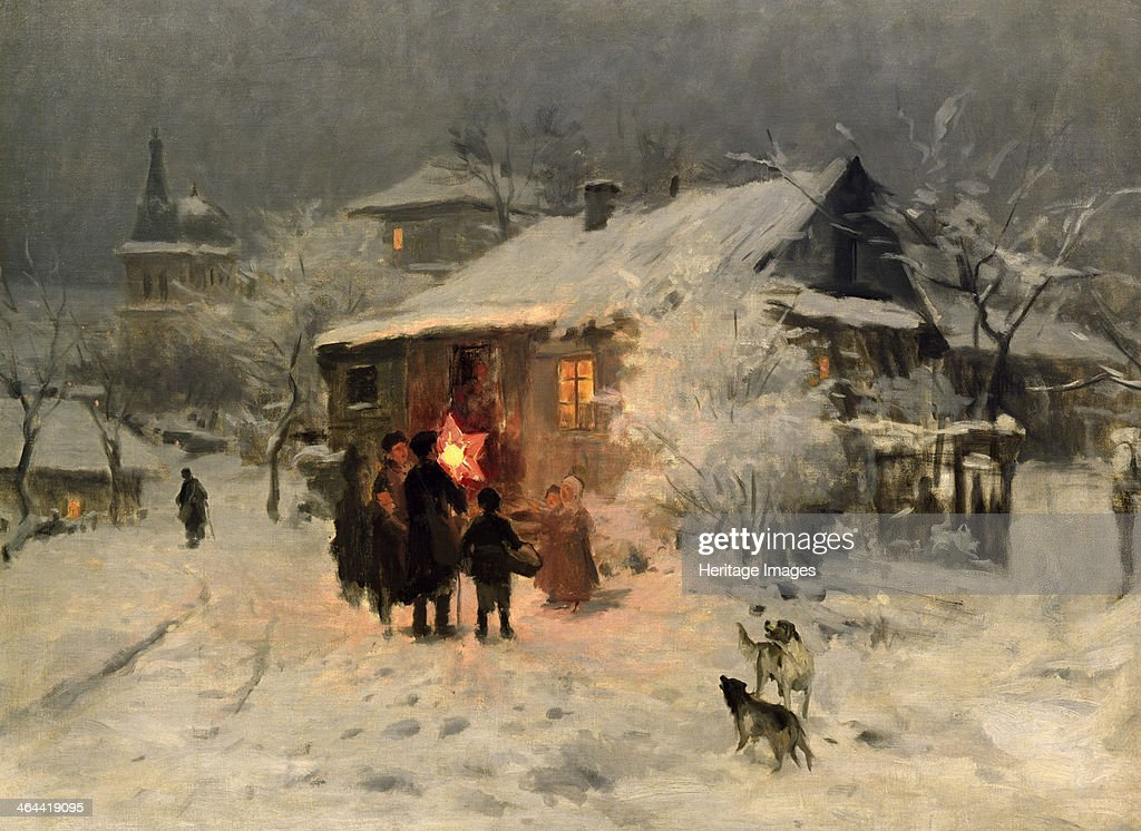 The Christmas carol in the Ukraine Found in the collection of the Regional Art Museum Kherson
