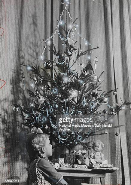 The Christmas tree was originally the holly It was regarded by pagans as a charm against evil spirits and was probably picked as a decoration because...