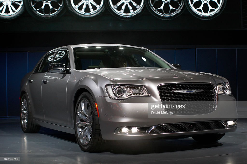 The Chrysler 300 C makes its debut at the 2014 Los Angeles Auto Show on November 19 2014 in Los Angeles California This year's show is slated to have...