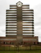 The Chrysler Group headquarters building is seen April 4 2007 in Auburn Hills Michigan DaimlerChrysler AG Chairman Dieter Zetsche publicly...