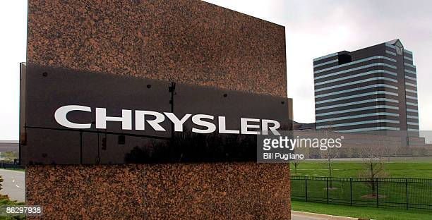 The Chrysler logo is displayed outside of its world headquarters on April 30 2009 in Auburn Hills Michigan Chrysler failed to come to an agreement...