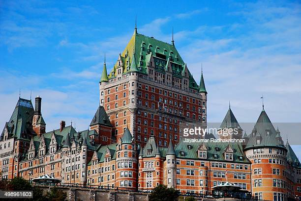 CONTENT] The Château Frontenac in Quebec City Quebec Canada It was designated a National Historic Site of Canada and one the famous landmark of...