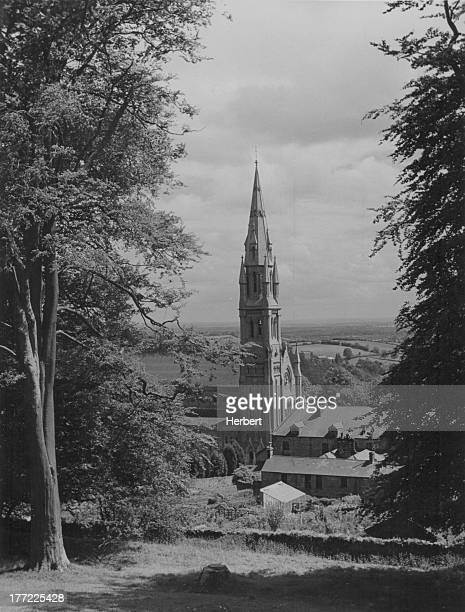 The church at Dungannon a town in County Tyrone Northern Ireland