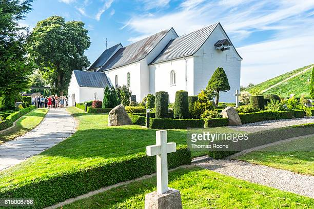 The church at Jelling an UNESCO World Heritage Site