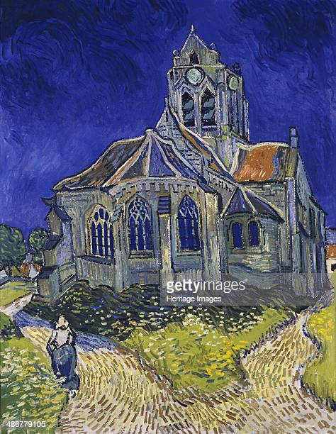 The Church in AuverssurOise View from the Chevet 1890 Artist Gogh Vincent van