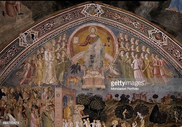 The Church Militant and Triumphant by Andrea di Bonaiuto 13651367 14th Century fresco Italy Tuscany Florence Church of Santa Maria Novella Spanish...