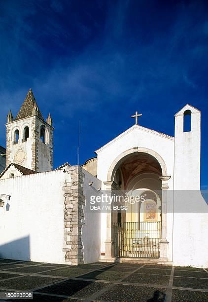 The church next to Estremoz Medieval Castle Portugal